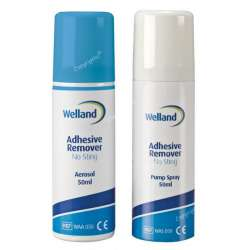 Gaziki do zmywania skóry Welland Adhesive Remover bezalkoholowe WELLAND MEDICAL WAD050