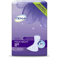 Wkładki urologiczne Tena Lady Maxi Night 12 szt