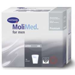 Wkładki anatomiczne MoliMed Men Active - 14 sztuk