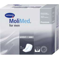 Wkładki anatomiczne MoliMed Men Protect - 14 sztuk