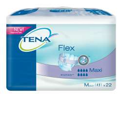 Pieluchomajtki Tena Flex Maxi M 22 szt